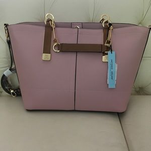 NWT Antonio Melani Blush Tote/Crossbody Bag